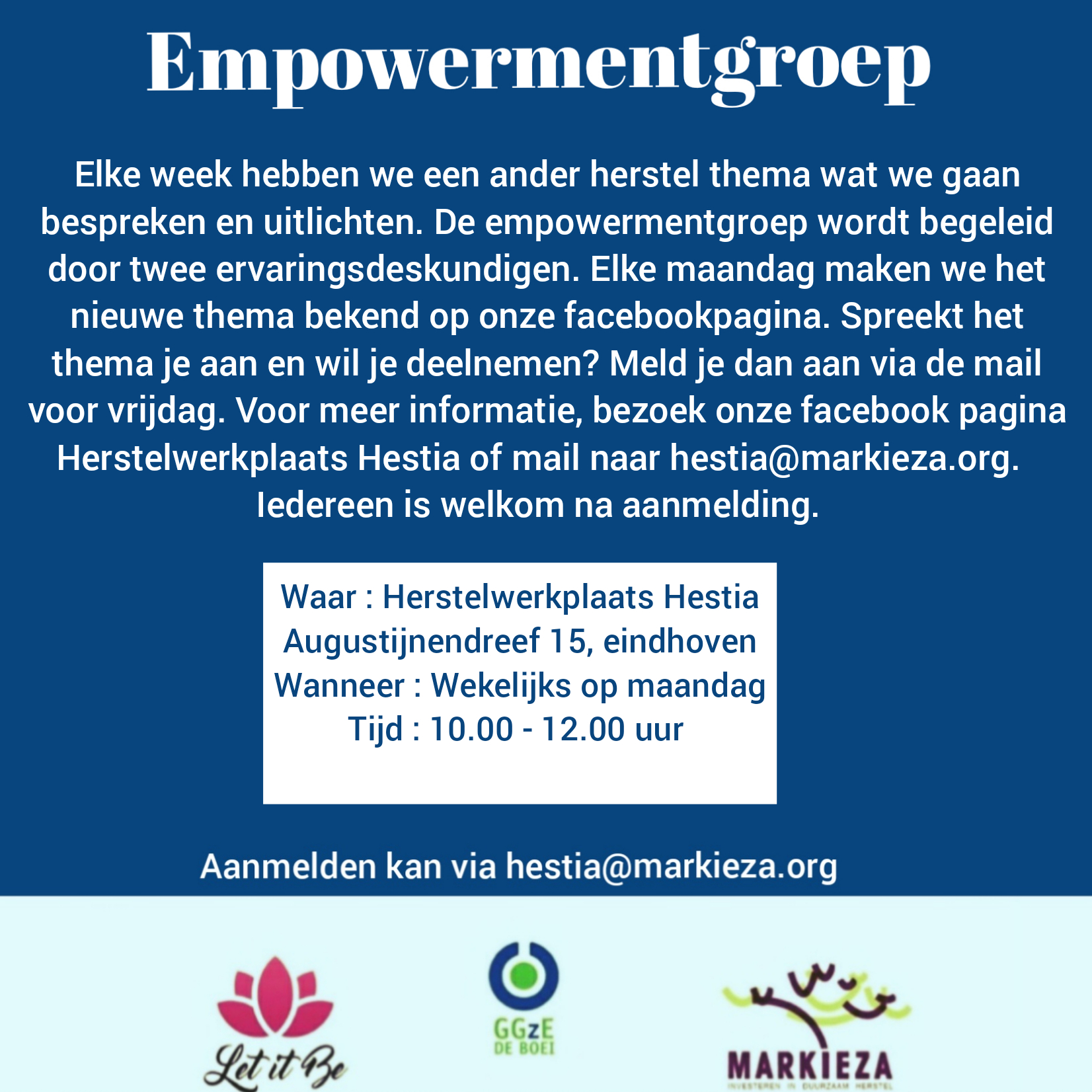 Empowermentgroep Let it Be Eindhoven